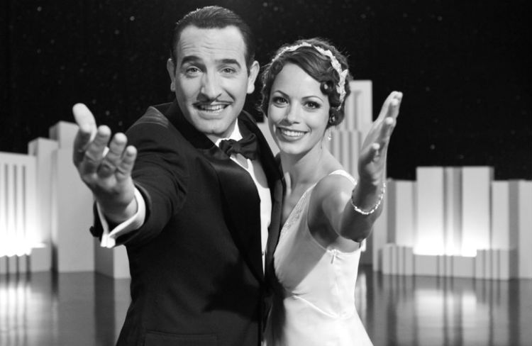 Jean Dujardin and Berenice Bejo in 'The Artist' (Weinstein Co.)