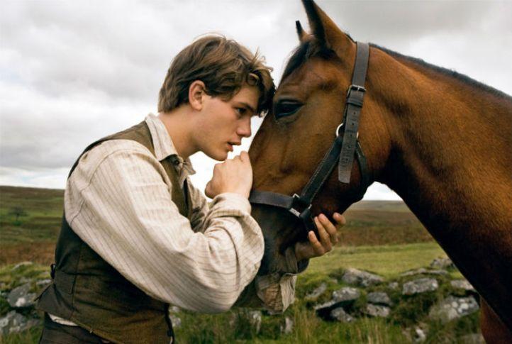 Jeremy Irvin in 'War Horse'