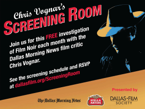 Chris Vognar's Screening Room