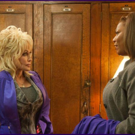 Dolly Parton and Queen Latifah in 'Joyful Noise'
