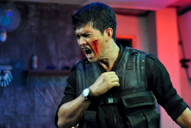 Iko Uwais in Gareth Evans' 'The Raid: Redemption' (Sony Pictures Classics)