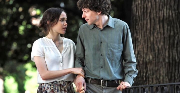 Ellen Page and Jesse Eisenberg in Woody Allen's 'To Rome With Love'