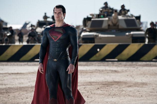 Henry Cavill in 'Man of Steel' (Warner Bros.)