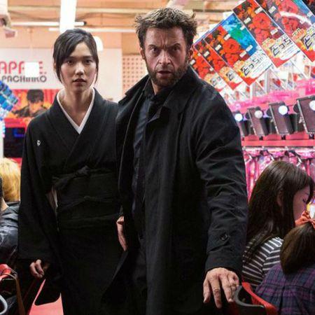 Hugh Jackman and Tao Okamoto in 'The Wolverine' (20th Century Fox)