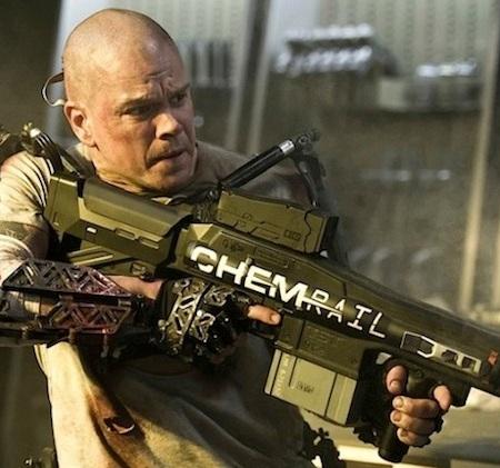 Matt Damon in 'Elysium' (Sony)
