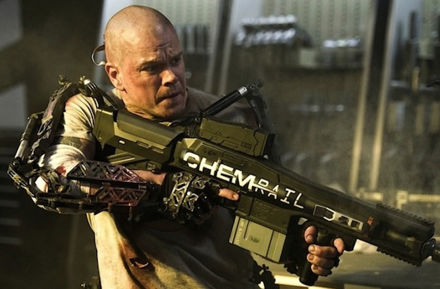 Matt Damon in 'Elysium' (Sony)