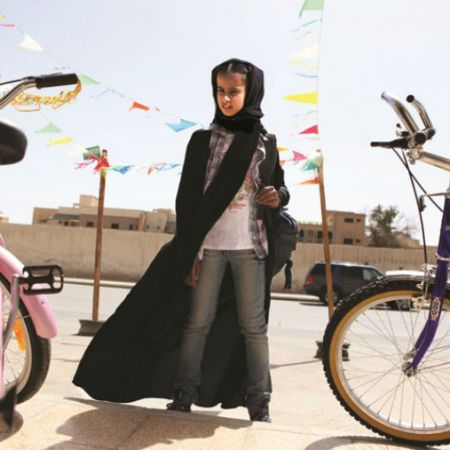 Waad Mohammed in Haifa Al-Mansour's 'Wadjda' (Sony Pictures Classics)